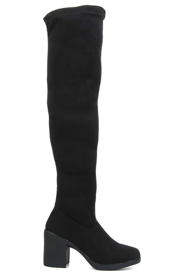 Womens Party Wear Zipper Closure Boots