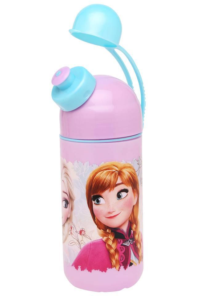 Girls Frozen Floral Water Bottle
