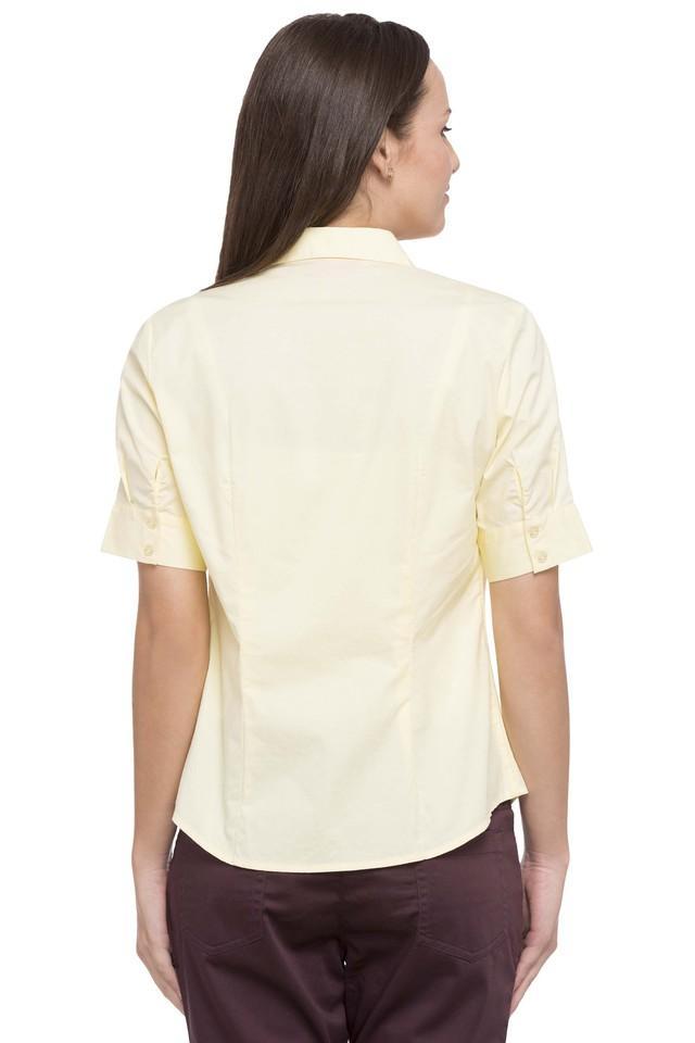 Womens Solid Formal Shirt