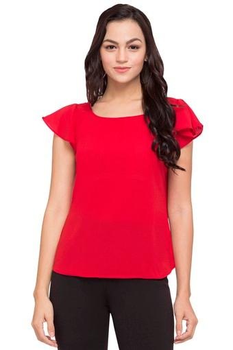 FRATINI WOMAN -  Red Tops & Tees - Main
