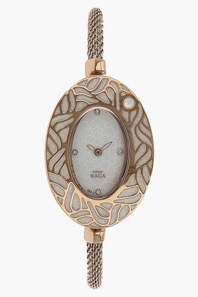 TITANWomens Mother Of Pearl Dial Metal Watch - NH9973WM02E