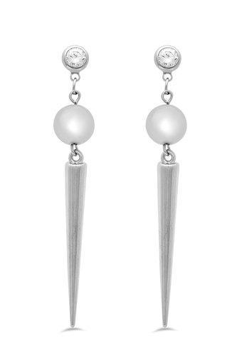 Womens Spike Drop Earrings
