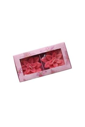 Flower Lily Floating Candle Pack of 2
