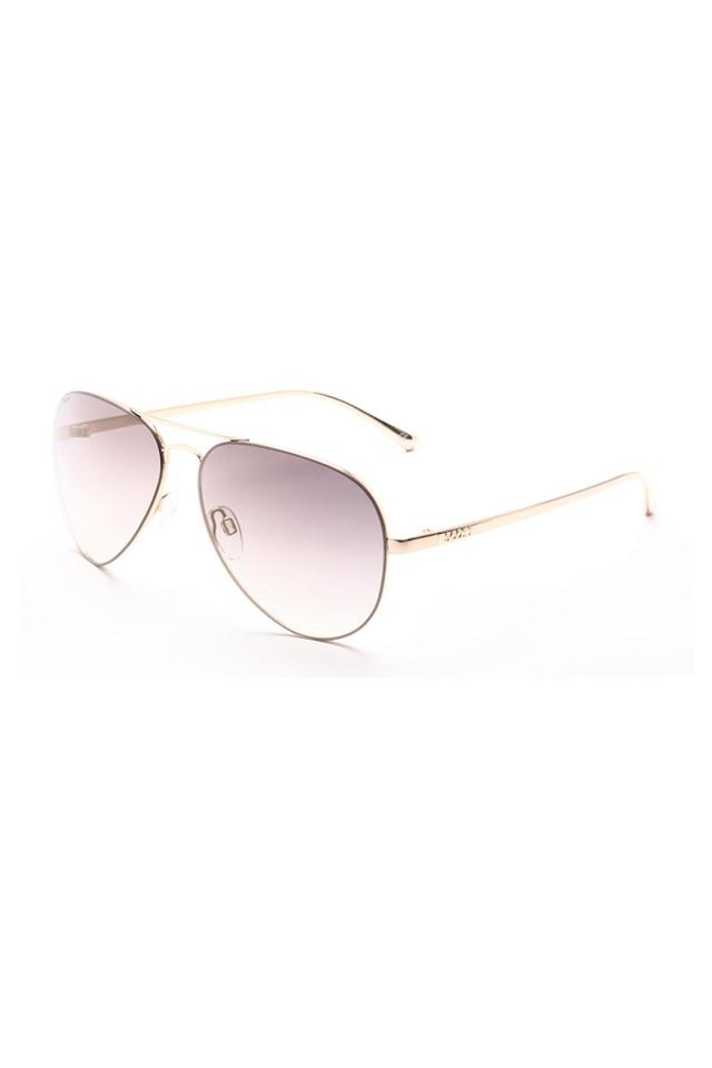 Unisex Full Rim Aviator Sunglasses - 2128 C1 S
