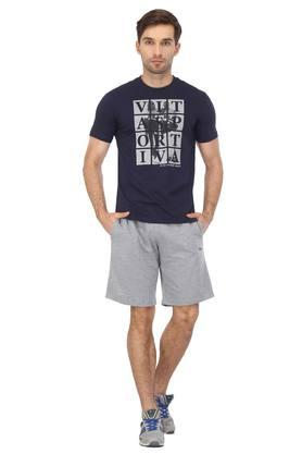 Mens 2 Pocket Slub Shorts