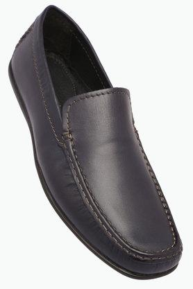 VENTURINI Mens Leather Slipon Loafers - 203017971