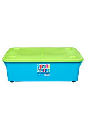 WHATMOREPlastic Kitchen Storage Box With Wheels