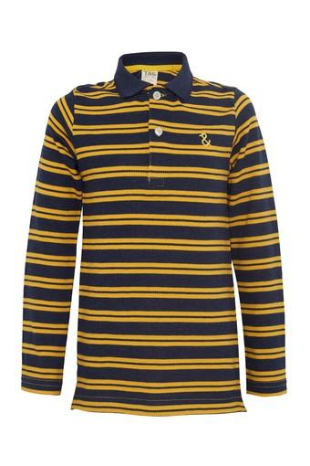 Boys Striped Casual T-Shirts