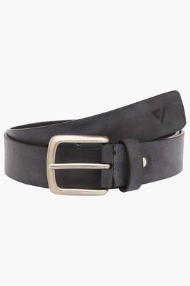 VETTORIO FRATINI Mens Leather Buckle Closure Casual Belt - 203362214