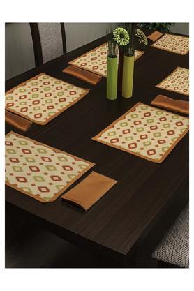 SWAYAMPrinted Place Mat And Napkin Set Of 4 - 204599986_9508