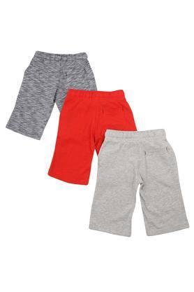 Boys 3 Pocket Slub Shorts - Pack of 3