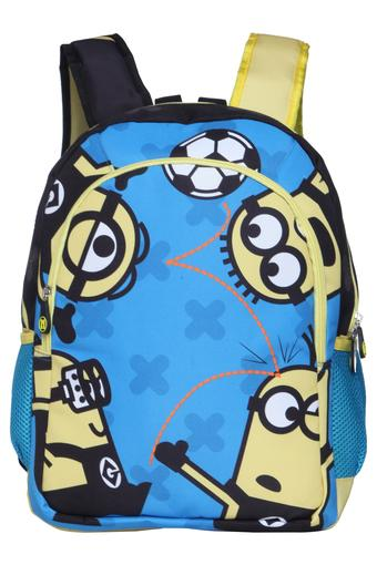 Unisex Minions 3 Compartment Zip Closure Backpack