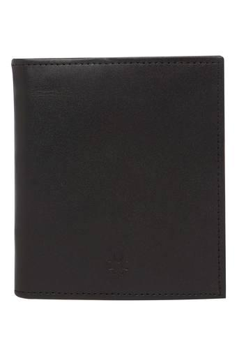 Unisex Leather 1 Fold Wallet
