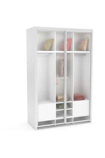 White Nera 2 Door wardrobe