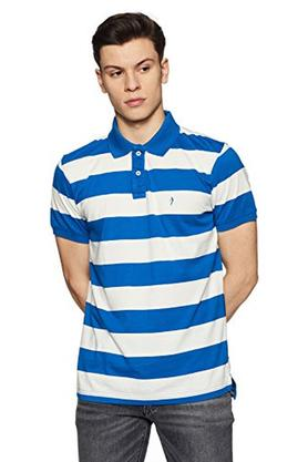 Mens Regular Fit Stripe Polo T- Shirt