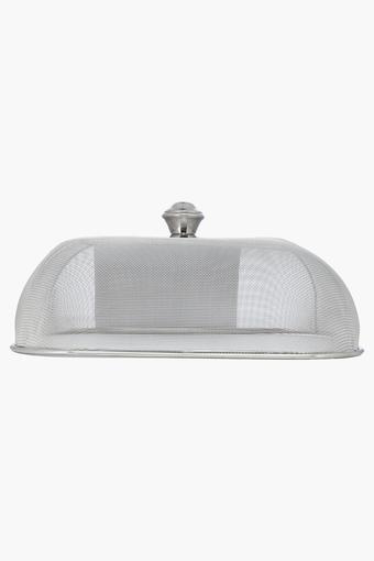 Silver Rectangular Dish Cover