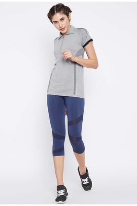 Womens Slub Polo T-Shirt
