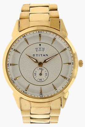 TITANMens Regalia Silver-White Dial Analog Watch - NJ1521YM01
