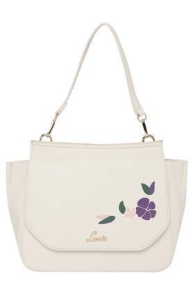 Womens Zip Closure Tote Handbag with Wallet