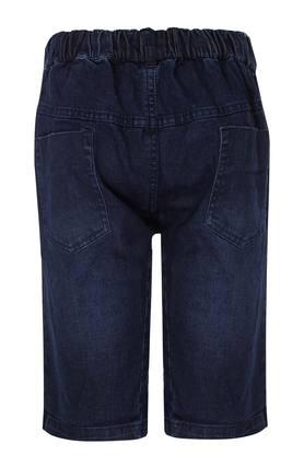 Boys 4 Pocket Mild Wash Shorts
