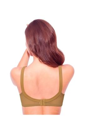Full Support Cotton Bra - M-Frame High Coverage Non-Padded Wirefree