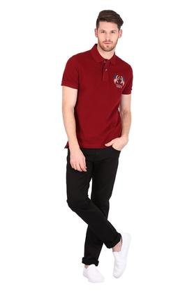 U.S. POLO ASSN. DENIM - Red Mix T-Shirts & Polos - 3