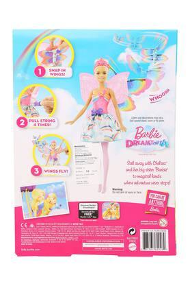 Girls Flying Wings Fairy Doll Set