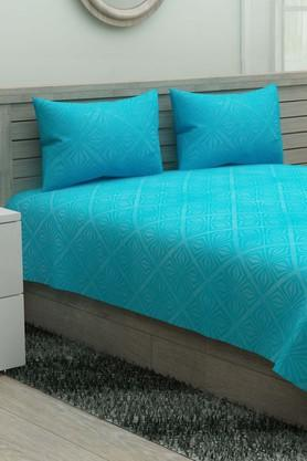 IVYPrinted Double Bedsheet With 2 Pillow Covers