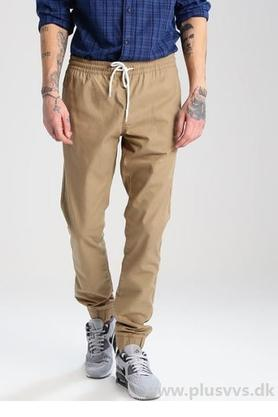 JACK AND JONES Mens Solid Joggers