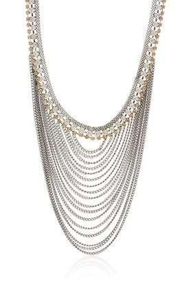 Womens Multi Strand Layered Necklace