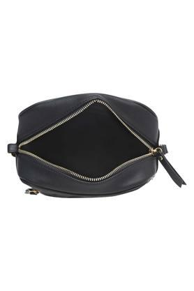 Mens Zip Closure Sling Bag