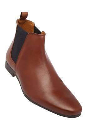 Mens Leather Slipon Formal Shoes