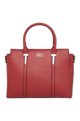 E2OWomens Zipper Closure Satchel Handbag - 204794917_9607