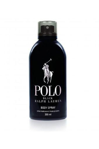 Mens Polo Black Body Spray