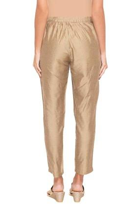 Womens 2 Pocket Slub Pants