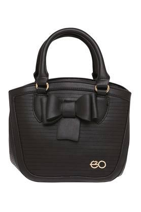 E2O Womens Zipper Closure Satchel Handbag - 203461142_9212