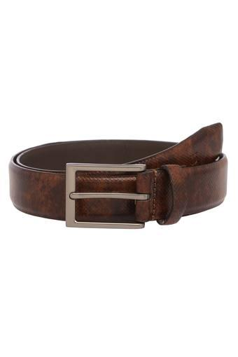 Mens Buckle Closure Casual Belt