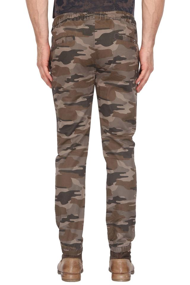 Mens 4 Pocket Camouflage Cargos