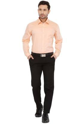 Mens Slim Collar Dotted Shirt