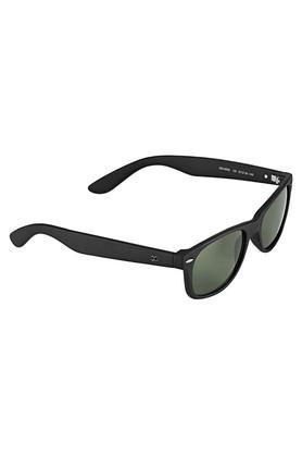 Womens Wayfarer Polycarbonate Sunglasses