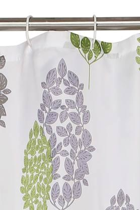 Floral Printed Shower Curtain
