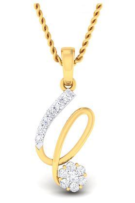 P.N.GADGIL JEWELLERSWomens Chunky Diamond Studded Pendant DPN5425
