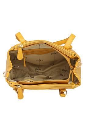 Womens Zip Closure Shoulder Handbag