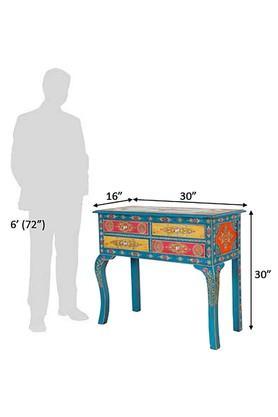 Multi Color Sheryl Console Table