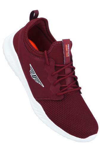 ATHLEISURE -  Burgundy Sports Shoes - Main