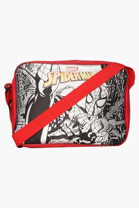 Unisex Zipper Closure Spiderman Sling Bag