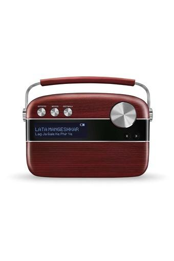 Carvaan Hindi Digital Music Player - Cherrywood Red