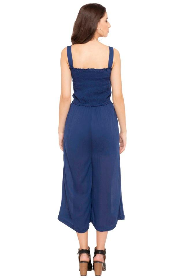 Womens Solid Jumpsuit