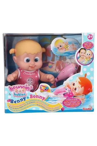 Unisex Benny and Bony Swim with Dolphine Doll