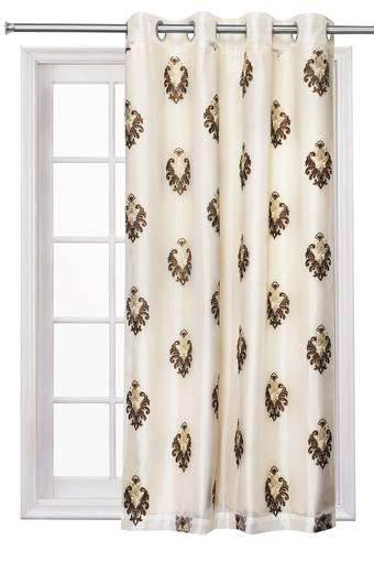 Sheer Embroidered Window Curtain